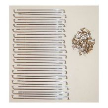 spaken set 183mm chroom 36pcs