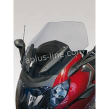 Bmw k1600 gt >'2011 windscherm hoog curved smoke