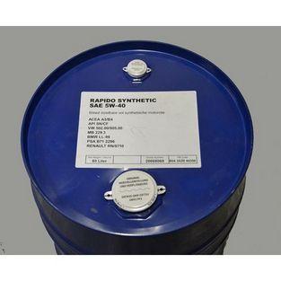 4-takt olie | scooter / brommer olie 5W40 vol synthetisch rapido 60L vat