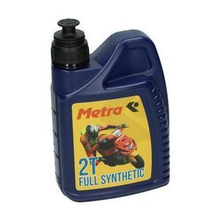2-takt olie | olie 2-takt vol synthetisch 1L fles metrakit pro race