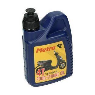 4-takt olie | olie 10W40 synthetisch 1L fles metrakit