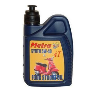 4-takt olie | olie 5W40 synthetisch 1L fles metrakit