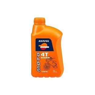 4-takt olie   scooter / brommer olie 10W40 half synthetisch. rider 1L fles repsol