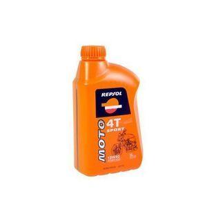 4-takt olie   scooter / brommer olie 10W40 half synthetisch. 1L fles repsol motosport