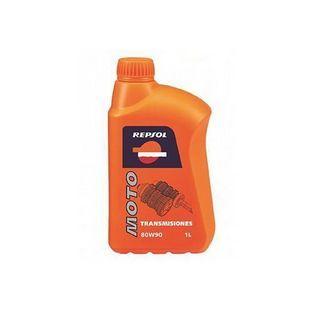 Olie en Vet | scooter / brommer olie 80W90 transmissie-olie minerale olie 1L fles repsol