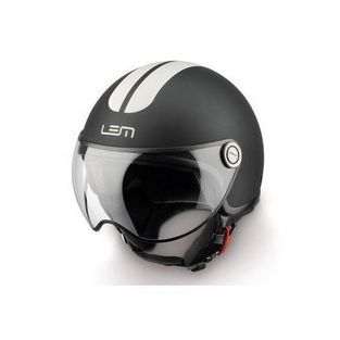 Lem | Jethelm Lem Go Fast mat zwart / wit