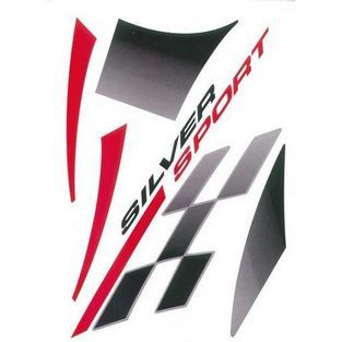 Peugeot | stickerset silversport peugeot vivacity