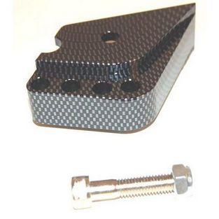 Minarelli | schokbrekerverlenger verstelbaar minarelli carbon DMP