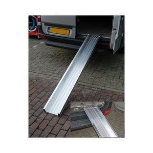 Universeel | oprijplank aluminium (30 euro vrachtkosten) 200x25cm
