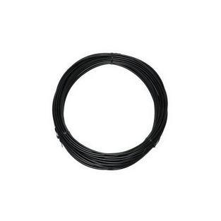 Universeel | kabel buiten rol 25 meter zwart