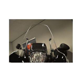 Universeel | sierstrip voor kappenset / plaatwerkset windscherm 2m chroom DMP