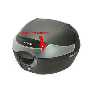 Shad | reflector voor topkoffer 33L shad sh33