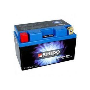 Shido | accu ytx9-bs lithium ion 150x100x80mm shido