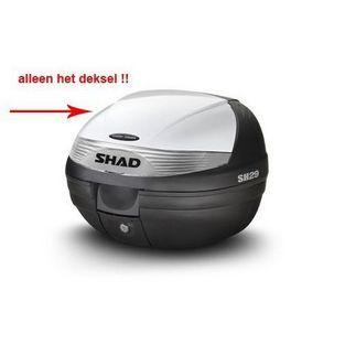 Shad | deksel topkoffer wit shad sh29
