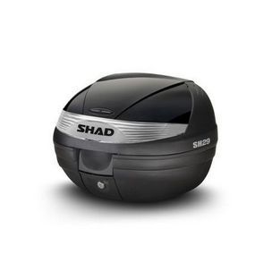 Shad | topkoffer met slede afneembaar 29L zwart shad sh29