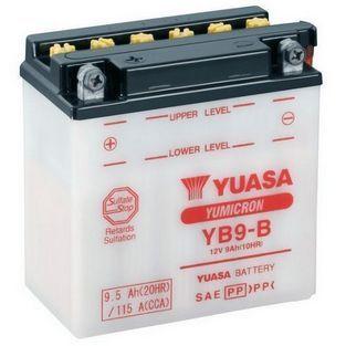 Yuasa | accu yb9-b piaggio fly 4-takt / vespa lx 4-takt / lxv / gilera runner 180 9 ampere yuasa