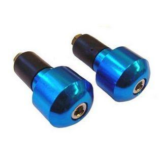 Universeel | stuurbalansgewicht set rond blauw aluminium DMP