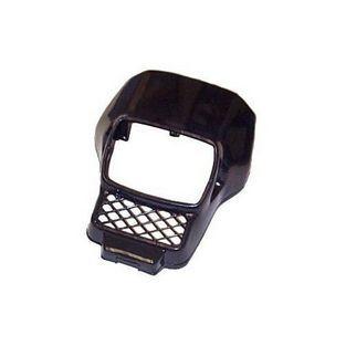 Honda | koplampspoiler vierkant mt zwart