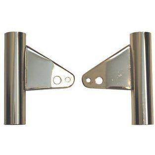Universeel | koplampoor set nieuw type model 529 / 530 chroom DMP