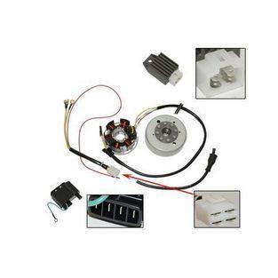 Sachs | ontsteking met vliegwiel compleet 6v electronisch kreidler / sachs / zundapp