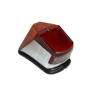 Zundapp   achterlicht model origineel hella oud type model 517 rood / chroom zundapp DMP