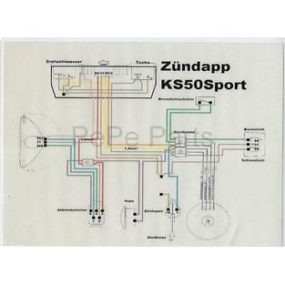 Zundapp | kabelboom sport 517 / ks grijs