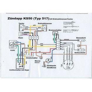 Zundapp | kabelboom cross 517 / ks zwart