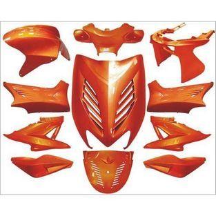 Yamaha | kappenset (plaatwerkset) special yamaha aerox amber metallic DMP 11-delig