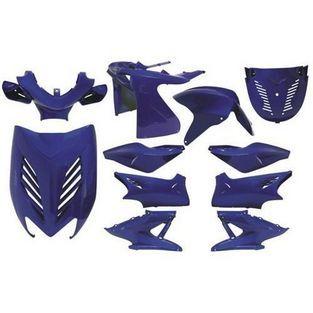 Yamaha | kappenset (plaatwerkset) special rossi yamaha aerox blauw DMP 11-delig