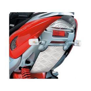 Yamaha | plaat binnenspatbord  yamaha aerox aluminium achter opticparts