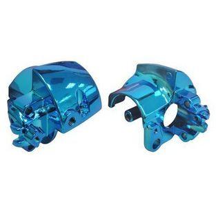 Yamaha | houder stuurschakelaar yamaha aerox blauw chroom rechts DMP=op=op