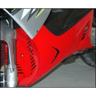 Yamaha | onderspoiler set met schroefset 28019 yamaha aerox rood DMP=op=op