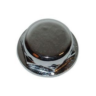 Piaggio | balhoofdmoer bovenplaat puch maxi chroom DMP
