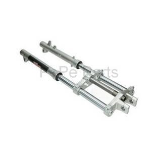 Puch | voorvork aluminium hydraulisch competition kort maxi ebr