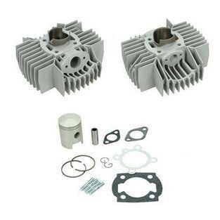 | cilinder aluminium / nikasil mon / puch 38mm