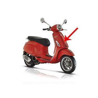 | voorscherm midden primavera rst mat rood 896 / a piaggio origineel 1b005209000s8