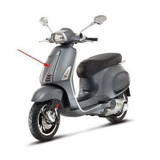 Vespa | voorscherm midden vespa sprint grijs titanio 742 / B piaggioorigineel 1b000203000ez