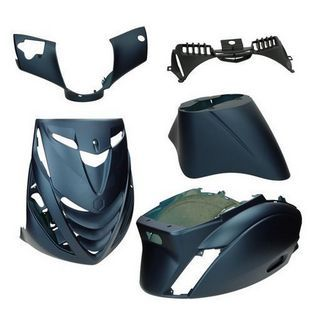 Piaggio | kappenset SP piaggio zip2000 blauw donker mat DMP 5-delig
