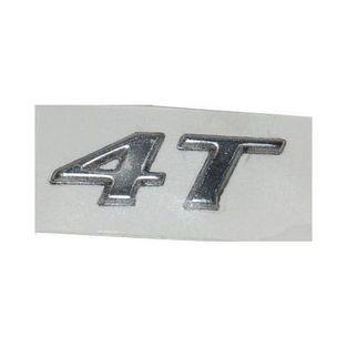 Vespa   sticker woord [4T] zijkap vespa lx 4-takt aluminium origineel 656222