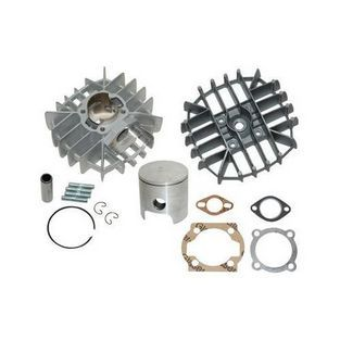 Piaggio | cilinder+kopaluminium nikasil con / maxi 46mm airsal
