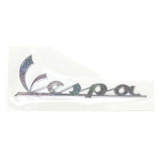 Vespa | sticker logo groot Vespa lx / s aluminium origineel 656220