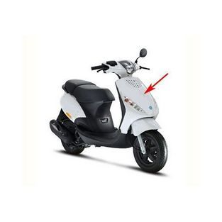 Piaggio | voorkap piaggio zip 2000 wit 724 piaggio origineel 5764130087