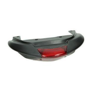 Piaggio | achterspoiler met achterlicht piaggio zip va2009 zwart piaggio origineel 575407000c