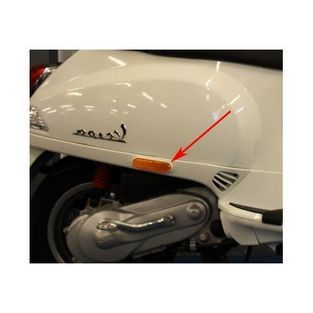 Vespa | houder reflector vespa S wit fusion 544 rechts orgineel 65430700br