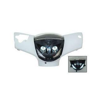 Piaggio | koplamp + ledverlichting zip2000 carbon DMP