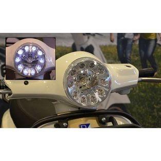 Vespa   koplamp led met dagverlichting vespa lx DMP