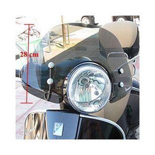 Vespa | windscherm vespa gts smoke origineel 656044 laag met bevestigingsset