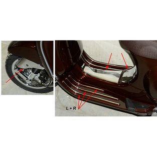 Vespa | sierstrip set met kapjes Vespa S / LX / LXV chroom DMP exclusive line 9-delig