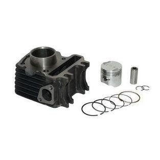 Piaggio   cilinder met zuiger vespa lx 4-takt / scopia 4 t 2v (2-klepper) / piaggio zip 4-takt 39mm DMP