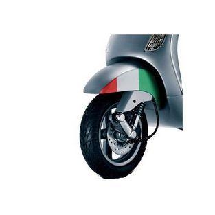 Vespa | sticker voorspatbord tricolore vespa lx